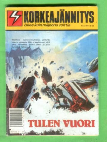 Korkeajännitys 1/91 - Tulen vuori