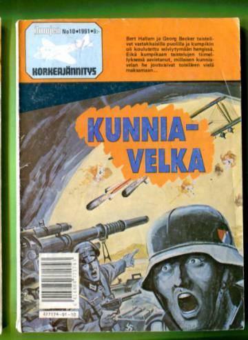 Ilmojen Korkeajännitys 10/91 - Kunniavelka