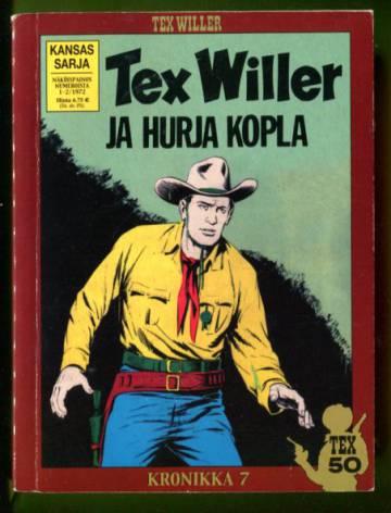 Tex Willer -kronikka 7 - Hurja kopla & Tahrittu tinatähti
