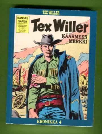 Tex Willer -kronikka 4 - Käärmeen merkki / Pankkiryöstö