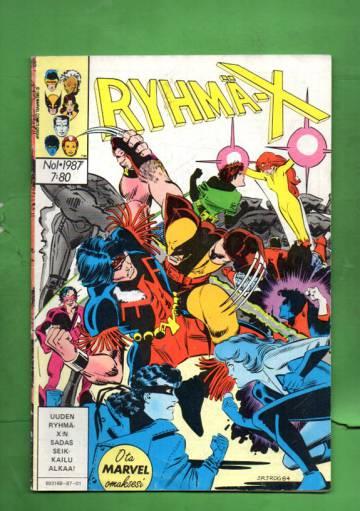 Ryhmä-X 1/87 (X-Men)