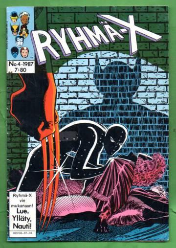 Ryhmä-X 4/87 (X-Men)