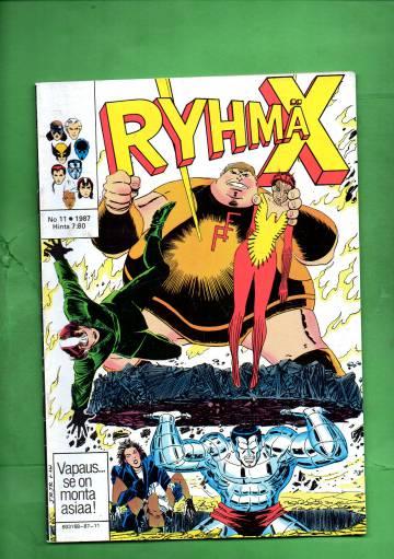 Ryhmä-X 11/87 (X-Men)