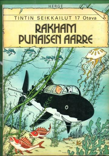 Tintin seikkailut 17 - Rakham punaisen aarre (1. painos)