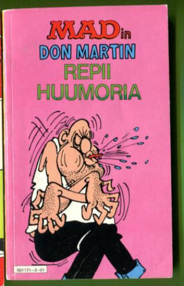Mad-pokkari 1 - Don Martin repii huumoria