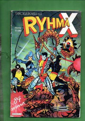Ryhmä-X-erikoisjulkaisu 1/87 (X-Men)