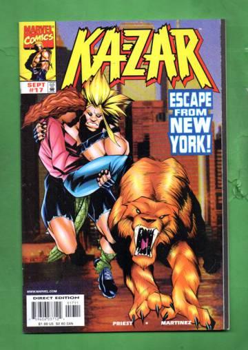 Ka-Zar Vol. 2 #17 Sep 98