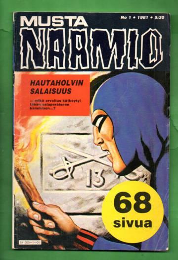 Mustanaamio 1/81
