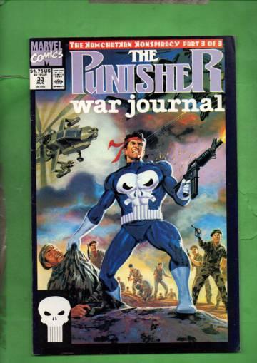 The Punisher War Journal Vol. 1 #33 Aug 1991