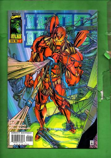 Iron Man Vol. 2 #1 Nov 96