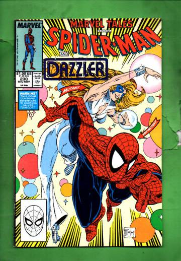 Marvel Tales Starring Spider-Man Vol. 1 #230 Mid Nov 89