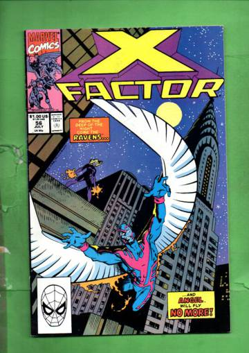 X-Factor Vol. 1 #56 Jul 90