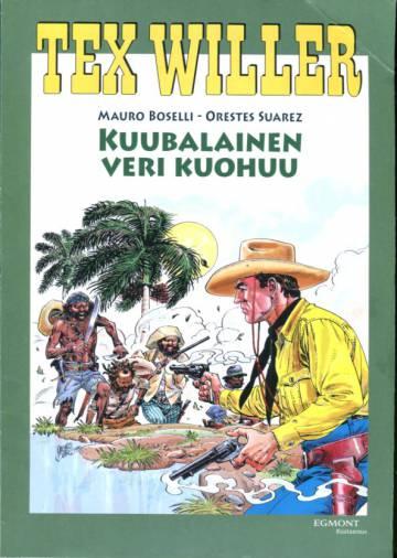 Tex Willer suuralbumi 24 - Kuubalainen veri kuohuu