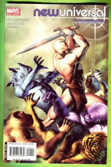 Newuniversal: Conqueror #1 Oct 08
