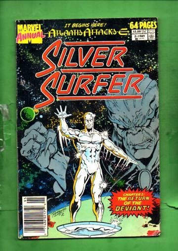 Silver Surfer Annual Vol. 1 #2 89