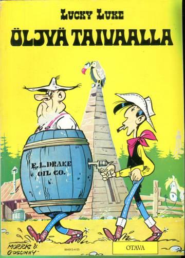 Lucky Luke 20 - Öljyä taivaalla (1.painos)