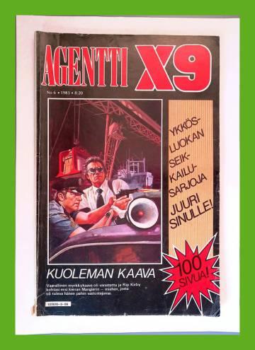 Agentti X9 6/83 (Modesty Blaise)