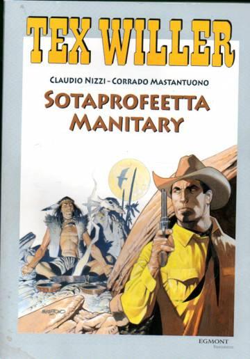 Tex Willer -suuralbumi 18 - Sotaprofeetta Manitary