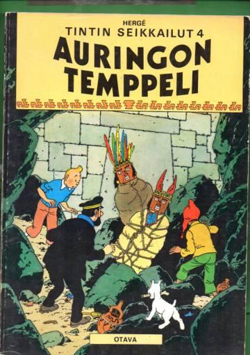 Tintin seikkailut 4 - Auringon temppeli (Tintti)
