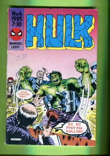 Hulk 4/85