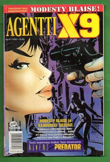 Agentti X9 4/92 (Modesty Blaise)