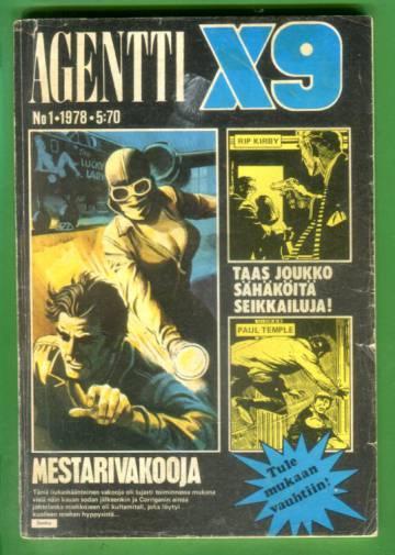 Agentti X9 1/78