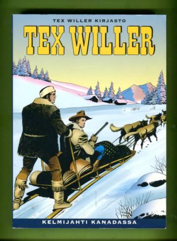 Tex Willer kirjasto 6 - Kelmijahti Kanadassa