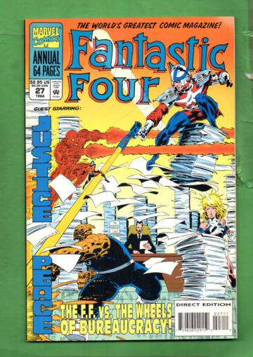 Fantastic Four Annual Vol. 1 #27 94