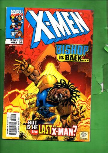 X-Men Vol 1 #92 Sep 99