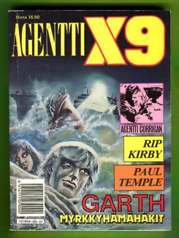 Agentti X9 -pokkari