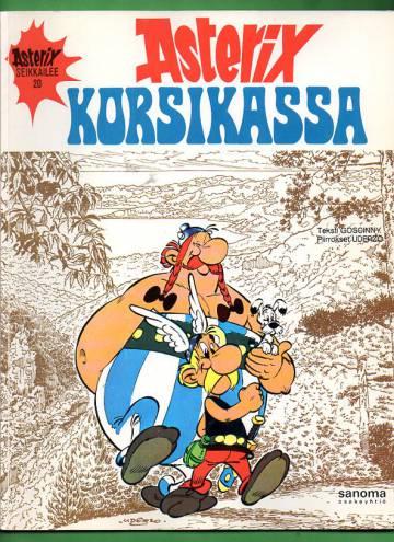 Asterix 20 - Asterix Korsikassa (1. painos)