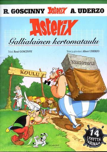 Asterix 32 - Gallialainen kertomataulu (1. painos)
