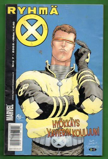 X-Men 7/03 (Ryhmä-X)