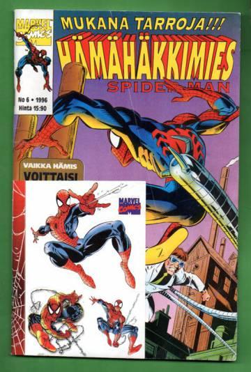 Hämähäkkimies 6/96 (Spider-Man) + tarra-arkki