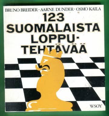123 suomalaista lopputehtävää - Kokoelma valiotehtäviä vuosilta 1946-71