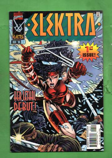 Elektra Vol. 1 #1 Nov 96