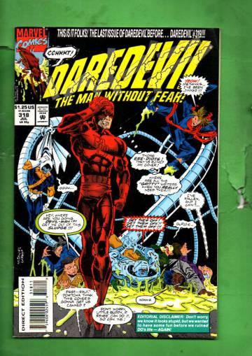 Daredevil Vol. 1 #318 Jul 93