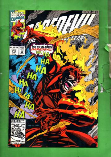 Daredevil Vol. 1 #313 Feb 93