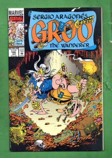 Sergio Aragonés Groo the Wanderer Vol. 2 #100 Apr 93