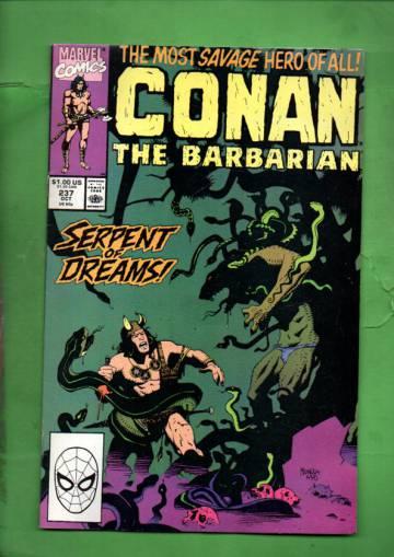 Conan the Barbarian Vol. 1 #237 Oct 90