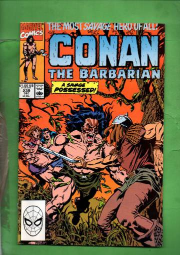 Conan the Barbarian Vol. 1 #239 Dec 90