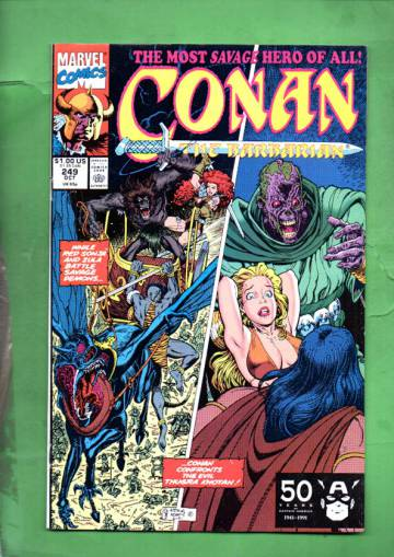 Conan the Barbarian Vol. 1 #249 Oct 91