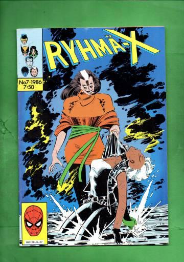 Ryhmä-X  7/86 (X-Men)