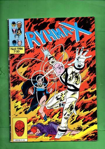 Ryhmä-X 6/86 (X-Men)