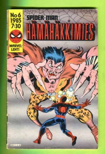 Hämähäkkimies 6/85 (Spider-Man)