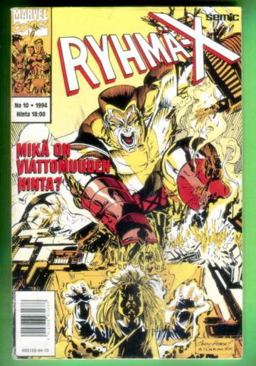 Ryhmä-X 10/94 (X-Men)
