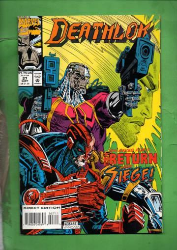 Deathlok Vol. 1 #27 Sep 93