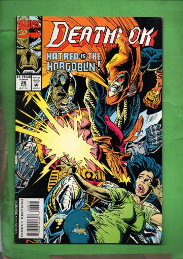 Deathlok Vol. 1 #26 Aug 93