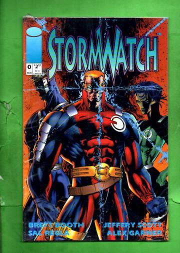 StormWatch #0 Aug 93