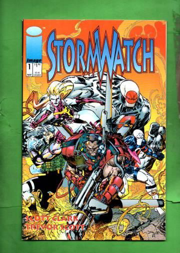 StormWatch #1 Mar 93